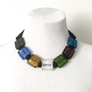 Jewelry - 🆕 Listing!  Boutique | Glass Statement Necklace